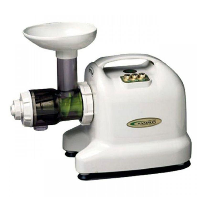 Best Compact Slow Juicer : Slowjuicer Matstone Wit - Rauw Naakt en Gezond