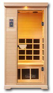 CE-1-1-Front infrarood sauna