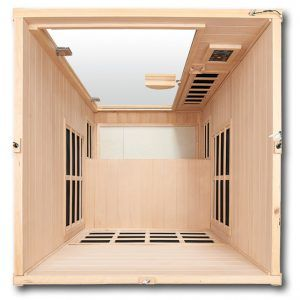 CE-1-Top-Down-View infrarood sauna