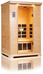 clear light infrarood sauna CE 2