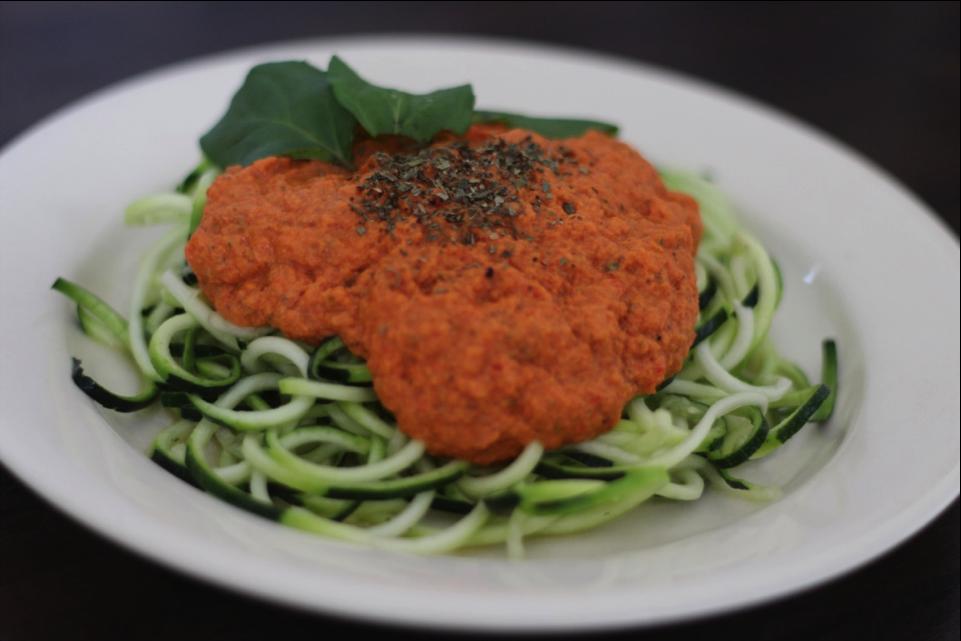 Spaghetti bolognese – rauw, vega